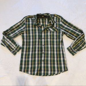 Eddie Bauer | Active Long Sleeve Button Down Sz M